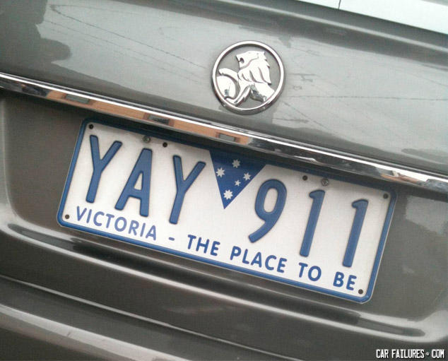 - Hey Australia, how about a YAYBALI license plate h