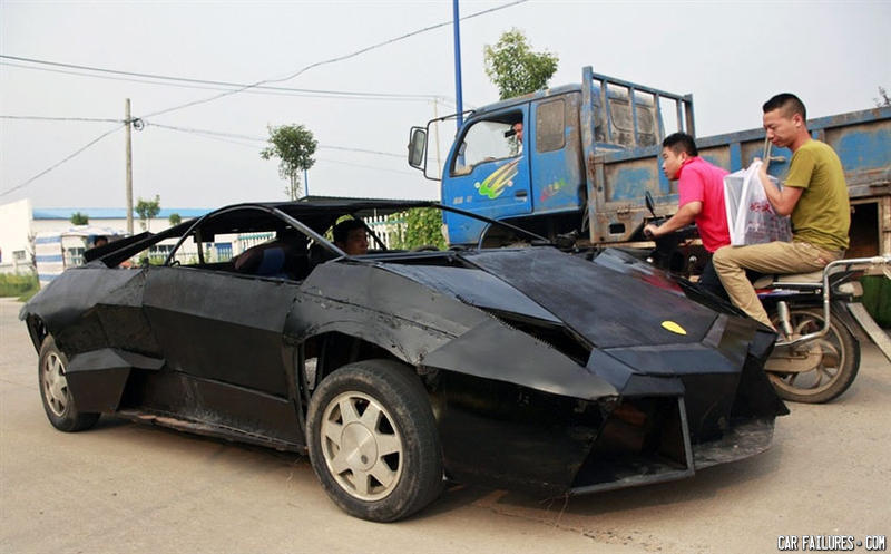 - Asian Lambo, powered by 3 chickens and 2 ducks