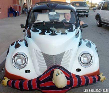 - Gives new meaning to 'bumper'