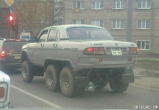 - The only tank that is driveable in Russia!