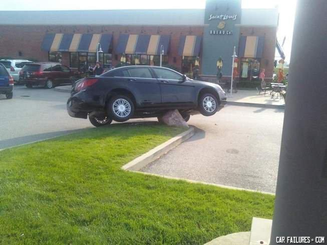 - cant park there
